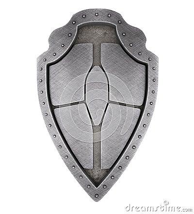 Medieval brushed shield