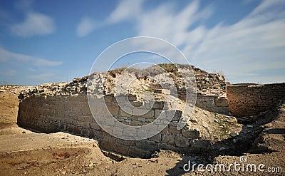 Medieval byzantine fortress