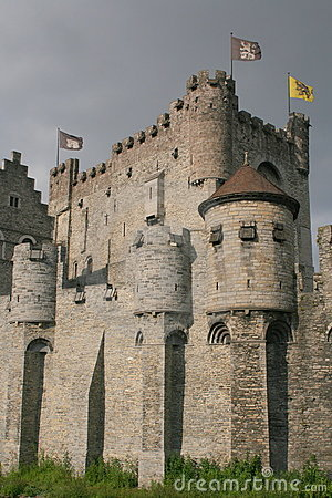 Free Medieval Castle Royalty Free Stock Photo - 5430065