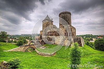 Medieval castle in Bedzin
