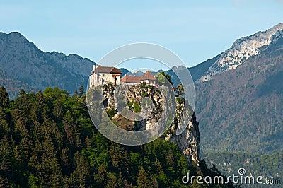 Medieval castle of Bled