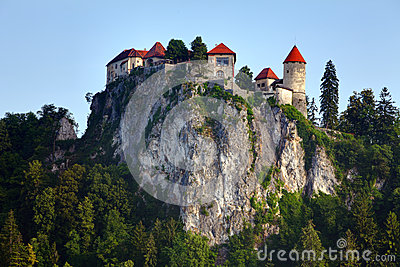Medieval castle of Bled