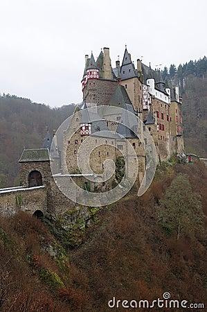 Medieval Castle Eltz in Germany