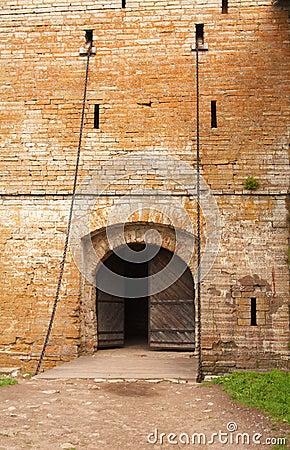 Free Medieval Castle Entrance Stock Image - 10639951