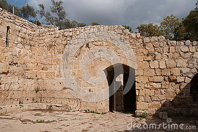 Medieval,  castle near jerusalem