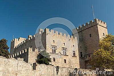 Medieval castle Rhodes