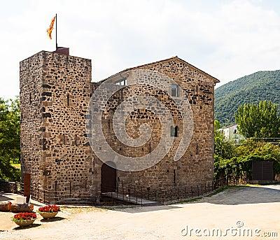 Medieval castle. Sant Joan les Fonts