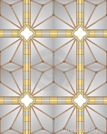Royalty Free Stock Photos: Medieval cathedral ceiling (seamless image)