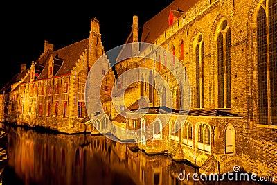 Medieval centre of Bruges