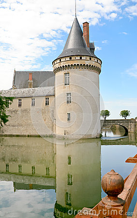 Medieval chateau Sully-sur-loire, France