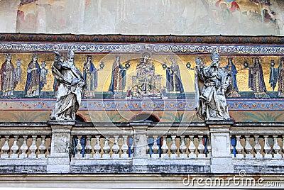 Medieval christian mosaics