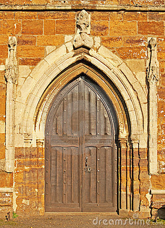 Free Medieval Church Door Stock Images - 23790914