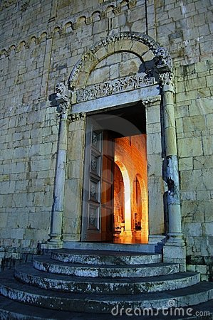 Free Medieval Church Entrance Stock Images - 3081354