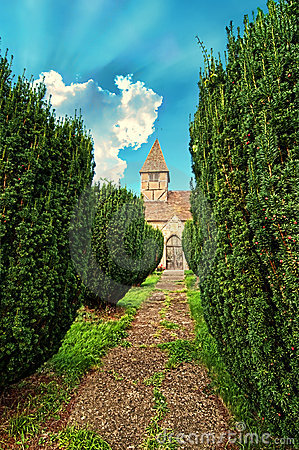 Medieval Church Path