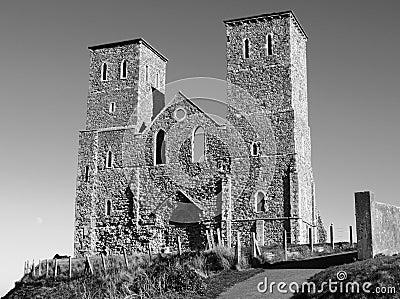 Medieval church ruins
