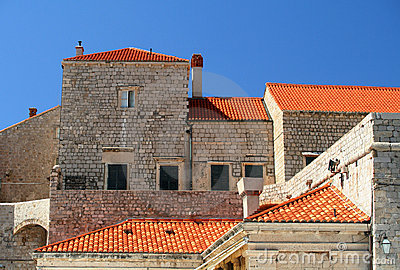 Medieval city wall of Dubrovnik - UNESCO Heritage