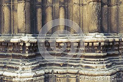 Medieval columns