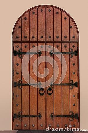 Front Iron Door