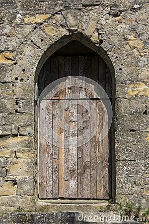 Medieval Door - Carcassonne - France