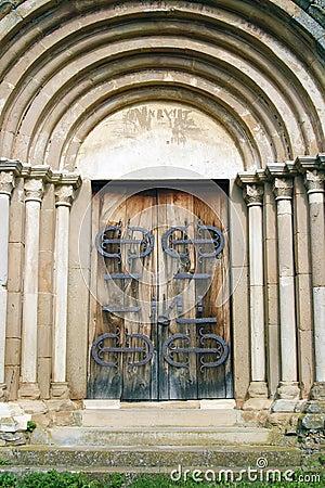 Medieval entrance