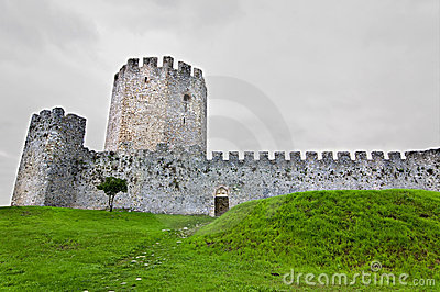 Medieval era castle in South Europe
