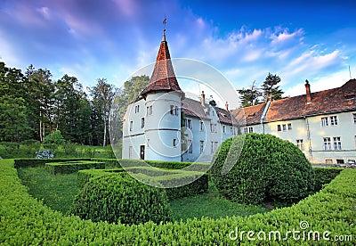 Medieval european castle
