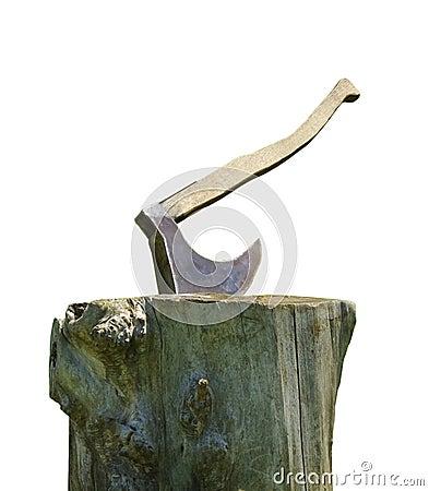 Medieval execution axe