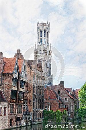 Medieval fairytale city