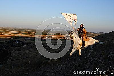 Medieval festival Consuegra.Spain Editorial Photo