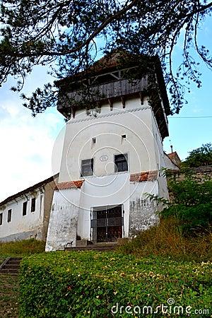 Free Medieval Fortified Saxon Church In Ungra, Transylvania Royalty Free Stock Photos - 79868478
