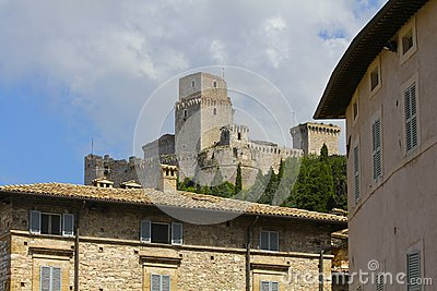 Medieval Fortress, Assisi, Italy