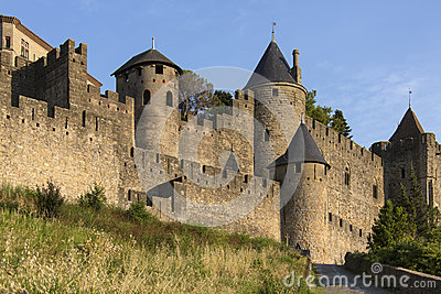 Medieval Fortress - Carcassonne - France