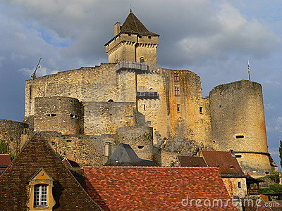 Medieval fortress, Castelnaud-la-Chapelle (France