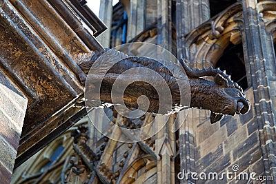 Medieval gargoyle