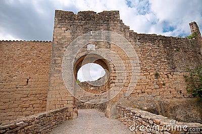 Medieval gate, Pals, Spain