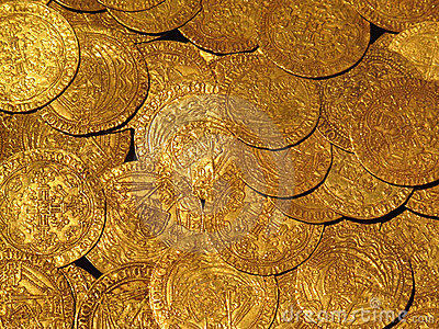 Medieval Gold Coins Treasure