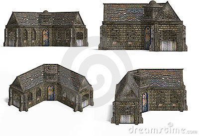 Medieval Houses - Cottage