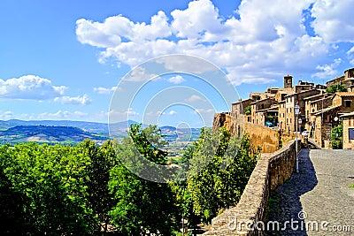 Medieval Italian hill town