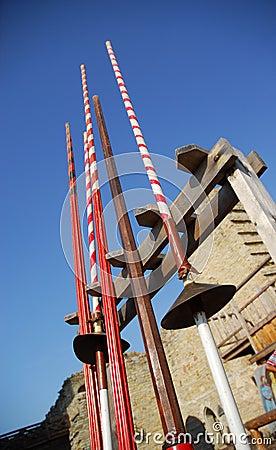 Medieval Jousting Poles