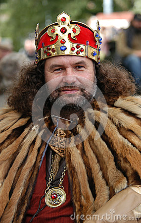 Free Medieval King Royalty Free Stock Photography - 27183377