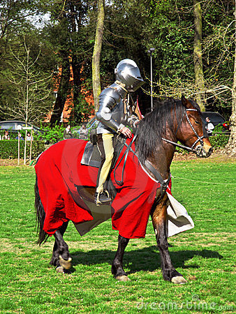 Medieval knight Editorial Stock Photo