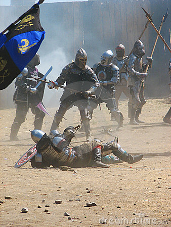 Free Medieval Knights Stock Photography - 3501452
