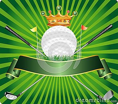 Medieval label golf