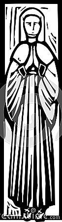 Medieval Lady Burial Image