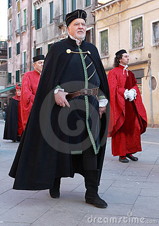 Medieval man Editorial Stock Image