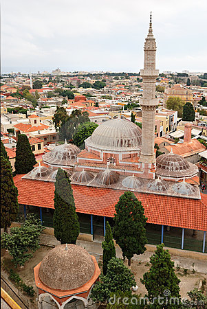 Medieval mosques in Rhodes (Greece)