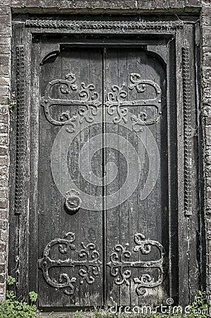 Medieval Oak Door
