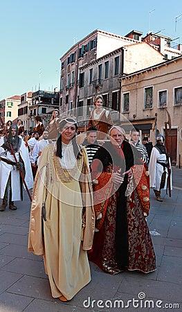 Medieval Parade Editorial Photo