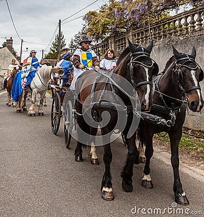 Medieval Parade Editorial Image