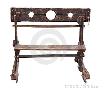 Free Medieval Pillory Stock Image - 21980521